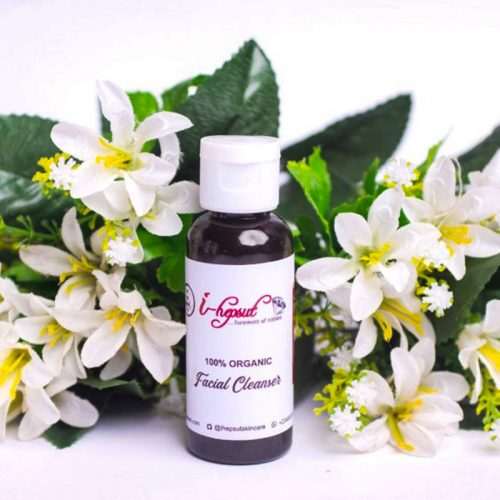 100% ORGANIC FACIAL CLEANSER