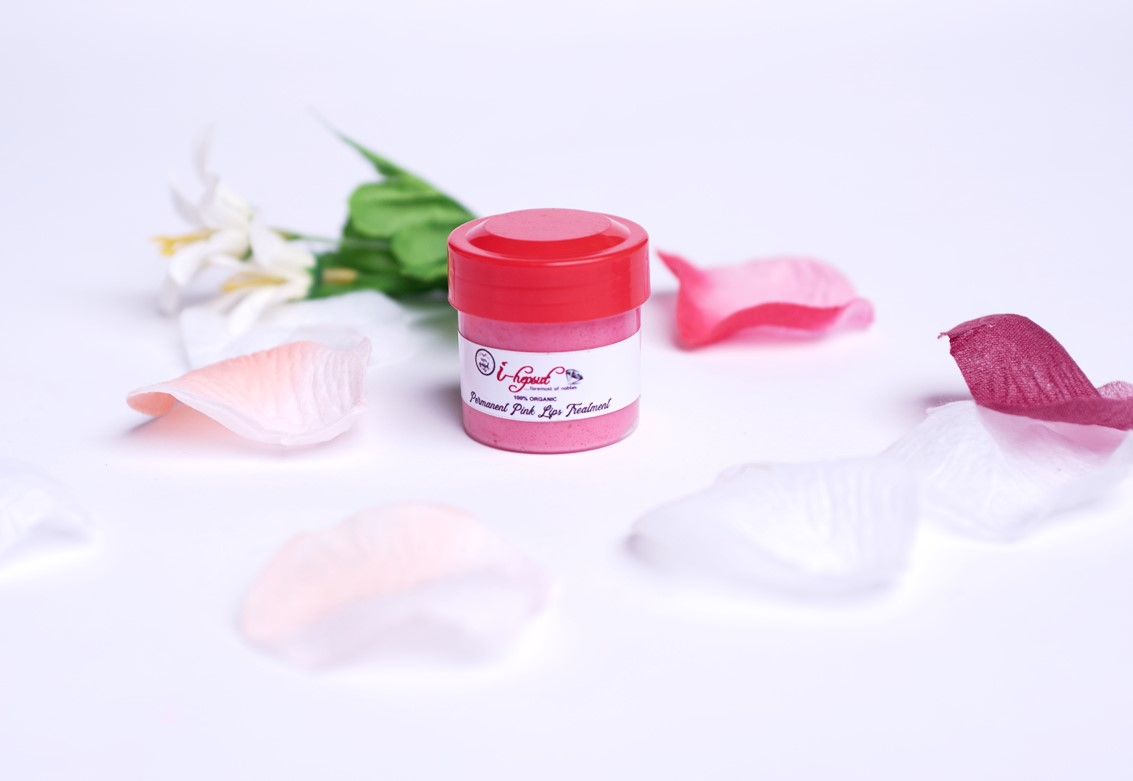 I-HEPSUT 100% ORGANIC PERMANENT PINK LIP TREATMENT